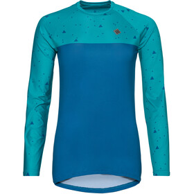 Triple2 Swet Recycled Poly Longsleeve Jersey Dames, lapis